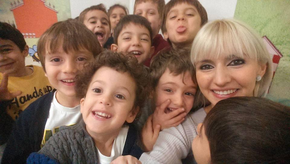 happy kids happy teacher